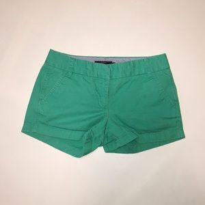 J. Crew - Mint Green 3 inch Chino Short